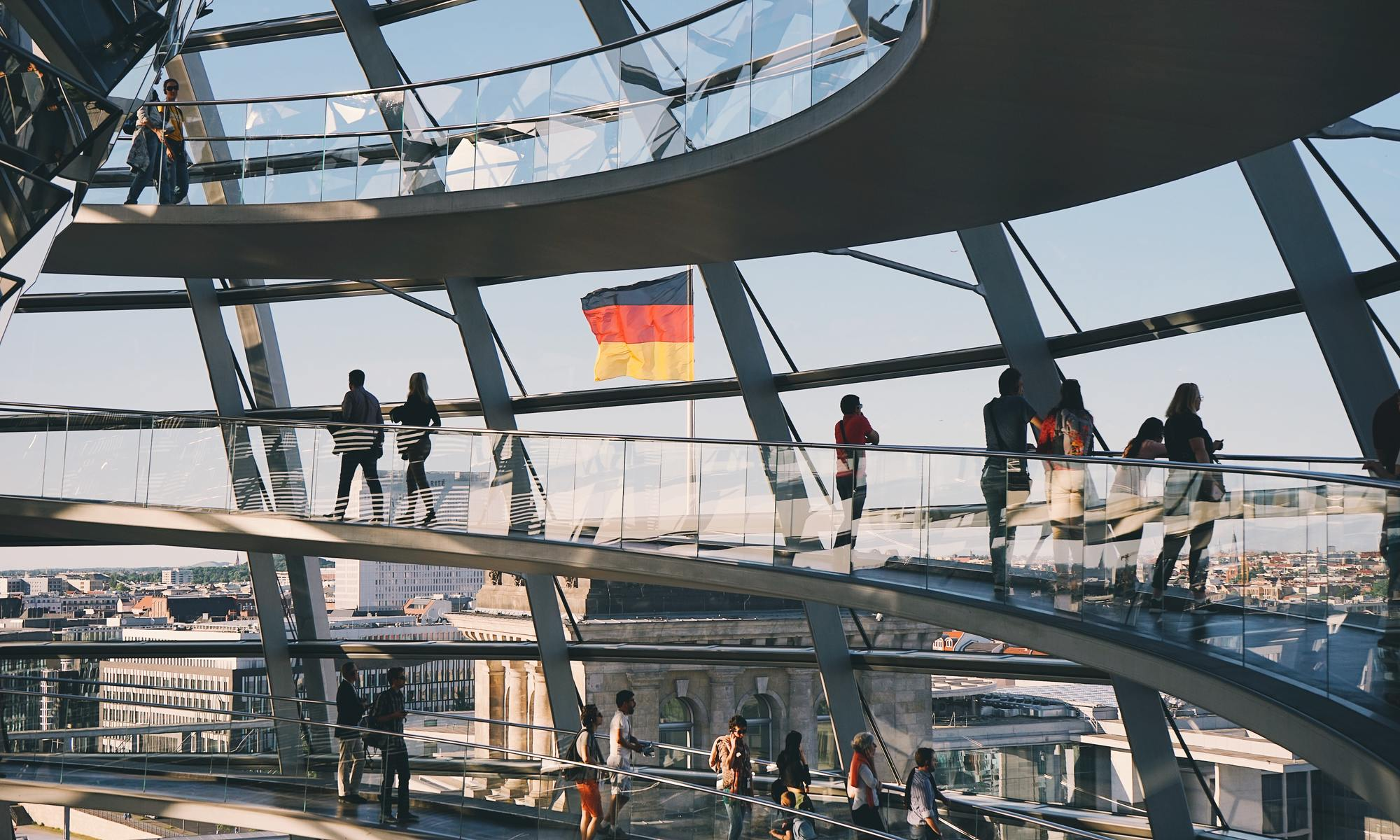 Flag of Germany, Reichstag
